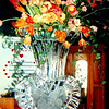 Heart Shaped Vase Ice Sculpture