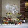 Grapes Ice Sculpture Luge