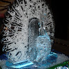 Peacock Ice Sculpture