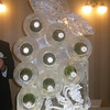 Grape Cluster Wine rack Ice Sculpture