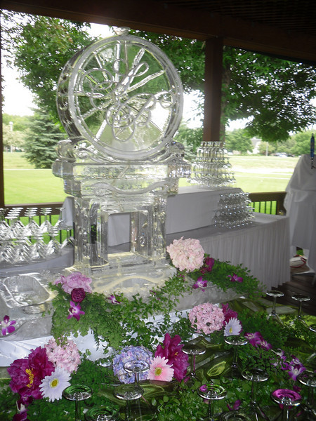 Garden Party Ice Luge