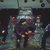 Nutcracker theme ice sculpture for Thornton Winter Festival