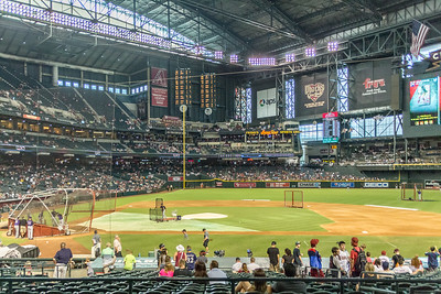 Dbacks Game and Fireworks July 04 2015  001