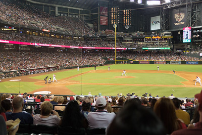 Dbacks Game and Fireworks July 04 2015  025