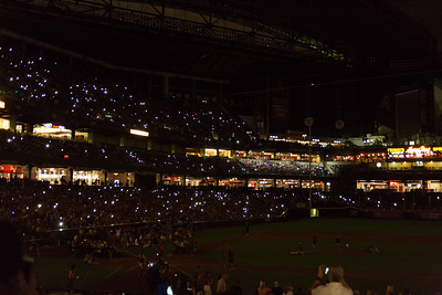 Dbacks Game and Fireworks July 04 2015  028