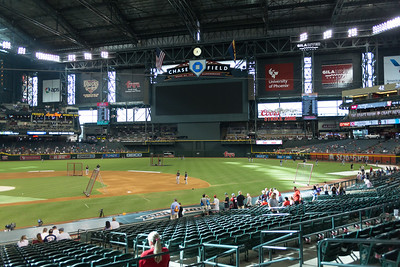 Dbacks Game and Fireworks July 04 2015  004