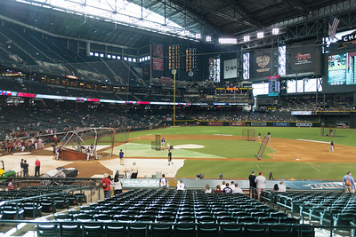 Dbacks Game and Fireworks July 04 2015  002