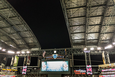 Dbacks Game and Fireworks July 04 2015  027