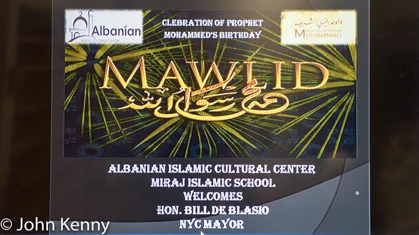 Albanian Islamic Cultural Center 12/11/16