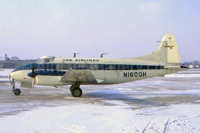 TAG Airlines de Havilland DH.104 Dove 5A N1600H (msn 04365) (Fernandez Imaging Collection). Image: 951224.