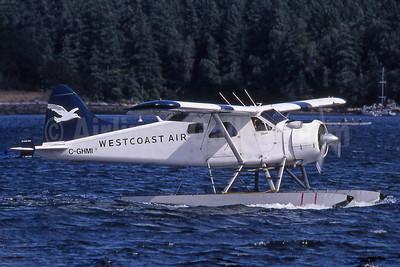Westcoast Air de Havilland Canada DHC-2 Beaver C-GHMI (msn 1215) YCD (Robbie Shaw). Image: 901799.