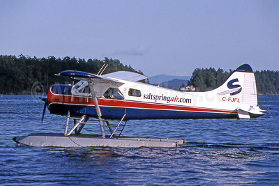 Salt Spring Air (saltspringair.com) de Havilland Canada DHC-2 Beaver C-FJFL (msn 898) YGG (Robbie Shaw). Image: 901176.