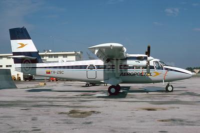 Aeropostal (Venezuela) de Havilland Canada DHC-6-300 Twin Otter YV-29C (msn 524) MIA (Bruce Drum). Image: 103553.