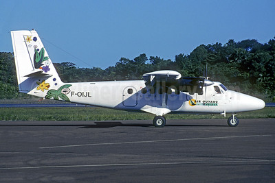 Air Guyane Express de Havilland Canada DHC-6-300 Twin Otter F-OIJL (msn 281) CAY (Christian Volpati Collection). Image: 941338.