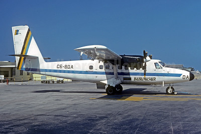 Bahamasair de Havilland Canada DHC-6-200 Twin Otter C6-BDA (msn 220) NAS (Jacques Guillem Collection). Image: 930290.
