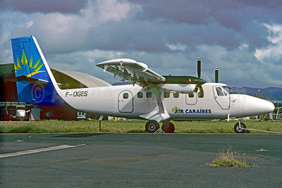 Air Caraibes (2nd) de Havilland Canada DHC-6-300 Twin Otter F-OGES (msn 254) FDF (Christian Volpati). Image: 926410.