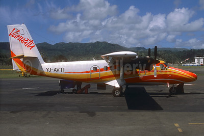 Air Vanuatu de Havilland Canada DHC-6-300 Twin Otter YJ-AV11 (msn 564) VLI (Jacques Guillem Collection). Image: 934382.