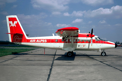 Air Alpes-AA de Havilland Canada DHC-6-100 F-BOOH (msn 72) (ORTF) LBG (Christian Volpati). Image: 948738.