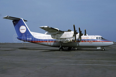 Alyemda Air Yemen de Havilland Canada DHC-7-103 Dash 7 7O-ACL (msn 23) ADE (Rolf Wallner). Image: 913895.