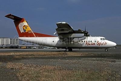 Asian Spirit de Havilland Canada DHC-7-102 Dash 7 RP-C2788 (msn 89) MNL (Pierre-Alain Petit - Bruce Drum Collection). Image: 900930.