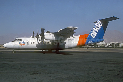 Arkia Israel Airlines de Havilland Canada DHC-7-102 Dash 7 4X-AHJ (msn 50) ETH (Christian Volpati Collection). Image: 936956.