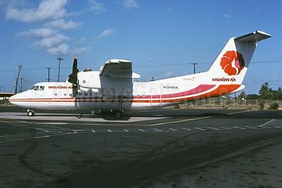 Hawaiian Air de Havilland Canada DHC-7-102 Dash 7 N919HA (msn 40) HNL (DDM Photos - Bruce Drum Collection). Image: 922061.