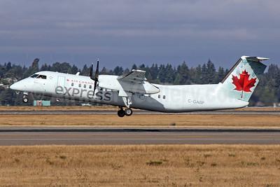 Air Canada Express-Jazz Aviation Bombardier DHC-8-311 Dash 8 (Q300) C-GABP (msn 257) SEA (Michael B. Ing). Image: 922828.