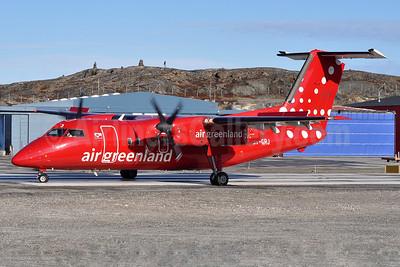 Air Greenland de Havilland Canada DHC-8-202 Dash 8 (Q202) OY-GRJ (msn 496) JAV (Robbie Shaw). Image: 939450.