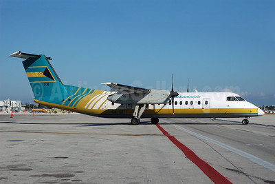 Bahamasair Bombardier DHC-8-311 C6-BFH (msn 291) MIA (Bruce Drum). Image: 100522.