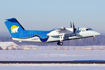 Canadian North Bombardier DHC-8-106 Dash 8 C-GECN (msn 324) YEG (Bernie Leighton). Image: 922585.