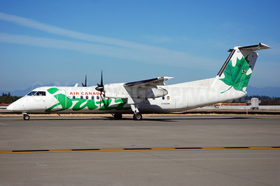 Air Canada Jazz (Jazz Air) Bombardier DHC-8-301 C-GUON (msn 143) SEA (Bruce Drum). Image: 101523.
