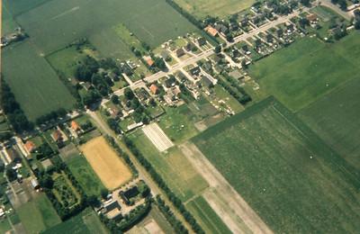 Luchtfoto van de Eserstraat