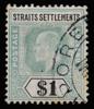 Straits Settlements KEVII Imperium $1