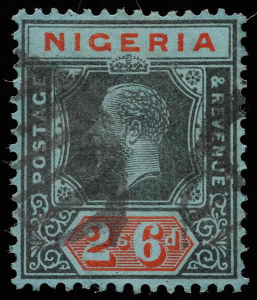 Nigeria KGV unified keyplate 2s6d 1925 SG27