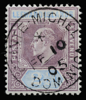 Leeward Islands King Edward VII SG23 with Pointe Michel cds