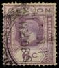 Ceylon KGV imperium 6c