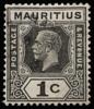 Mauritius KGV Imperium 1c black SG223 1926