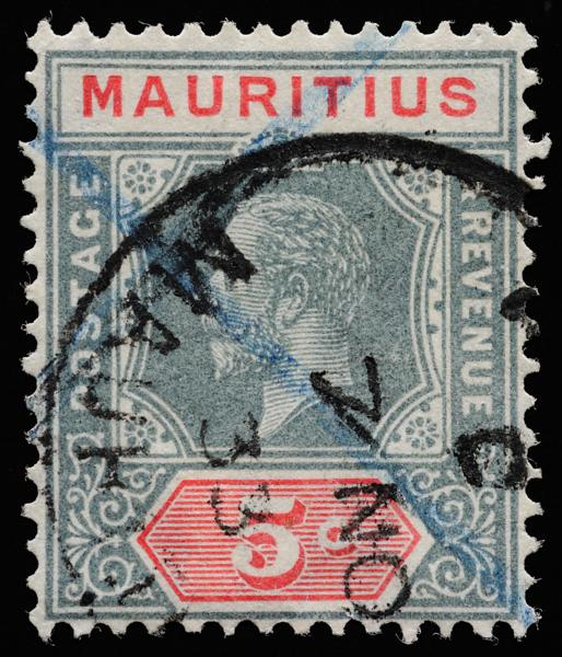 Mauritius KGV Imperium Die I 1932 5c SG227a