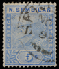 Negri Sembilan tiger definitive 1894 5c blue SG4