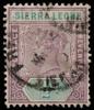Sierra Leone 1/2d Queen Victoria imperium 1897 SG41