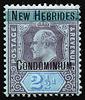 Imperium KEVII Fiji overprinted New Hebrides Condominium