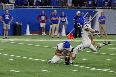 De La Salle defeated Detroit Catholic Central 35-14 in the CHSL A-B championship football game at Ford Field on Saturday, Oct. 21. It was the Pilots' second victory over the Shamrocks in as many weeks. DIGITAL FIRST MEDIA PHOTO GALLERY BY BILL ROOSE.