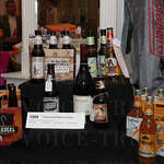 Silent auction items included this wine and craft beer package.