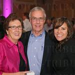 Donna and Ron Tucker, Daniela Richardson.