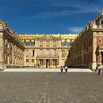 Entrée Chateau de Versailles