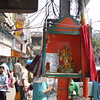 streetside Shiva shrine