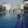 rooftop pool at the Prince Polonia (the perfect antidote to the sticky Delhi heat)