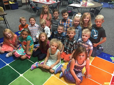 kindergarten whole class fall