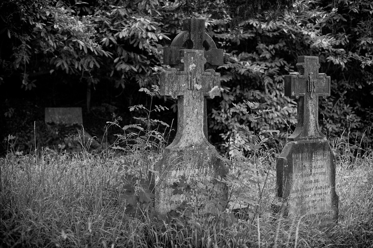 Bath Abbey Cemetery. UK