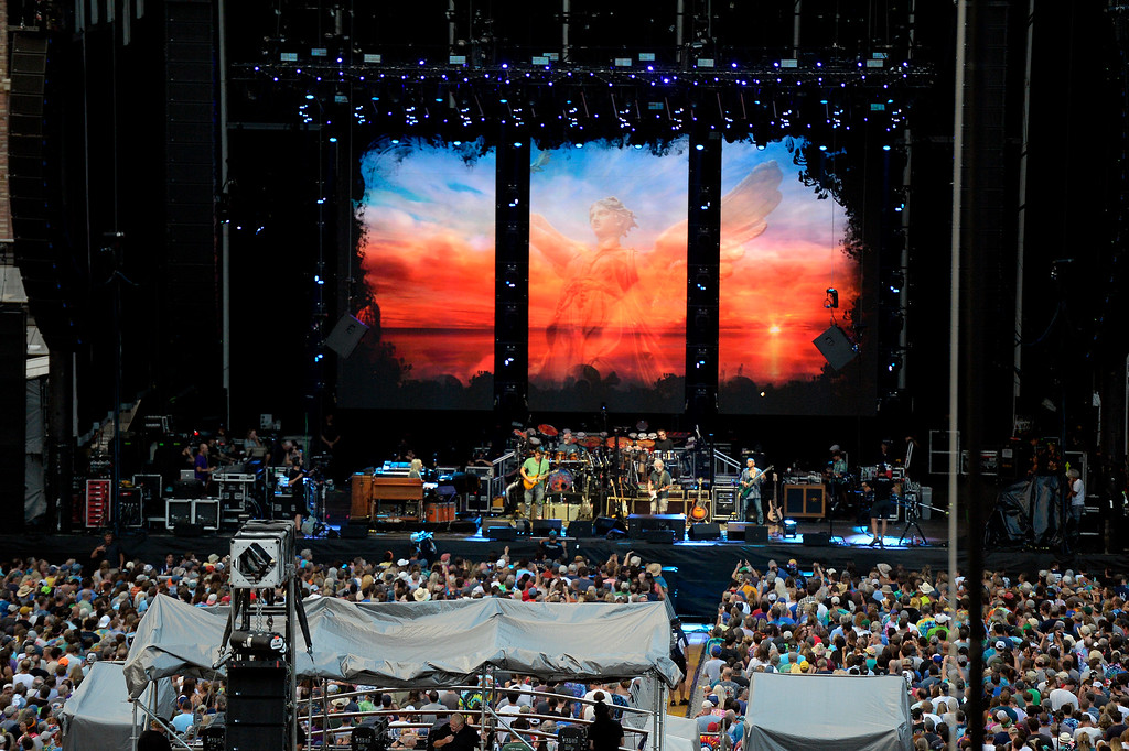 . The Dead & Company concert on Friday at Folsom Field on the University of Colorado campus in Boulder. For more photos of the event go to dailycamera.com Jeremy Papasso/ Staff Photographer 07/13/2018